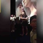 actress shocked to see a fan pouning on her watch video
