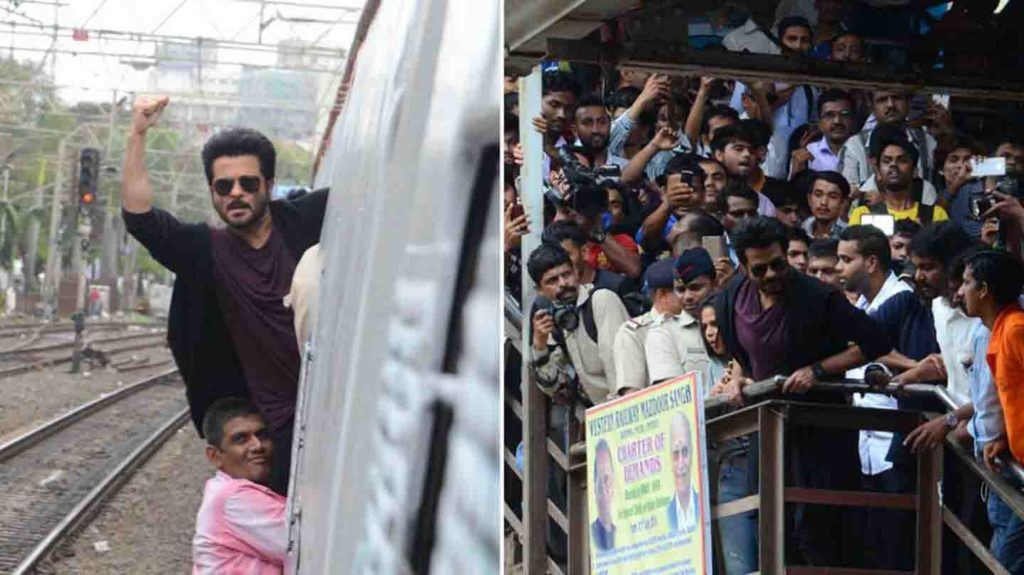 RAILWAYS HANDED THE NOTICE TO ANIL KAPOOR