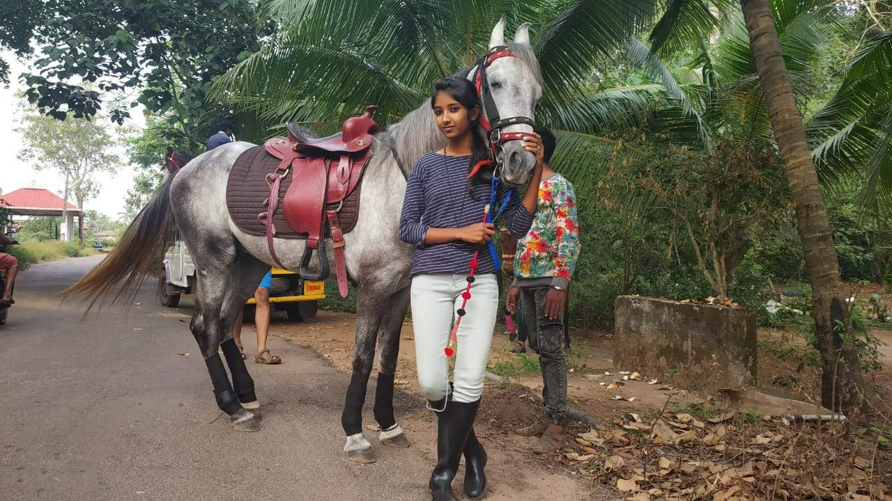 Kerala schoolgirl rides horse en-route to class 10th board exam, video goes viral