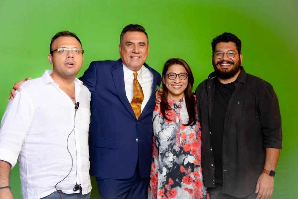 Boman Irani's production house gets underway with sons Kayoze and Danesh