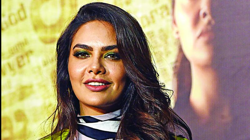 esha gupta turns environmental ambassador