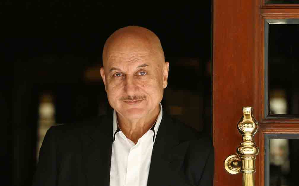 Anupam Kher Profile shoot in Hotel Imperial New Delhi.