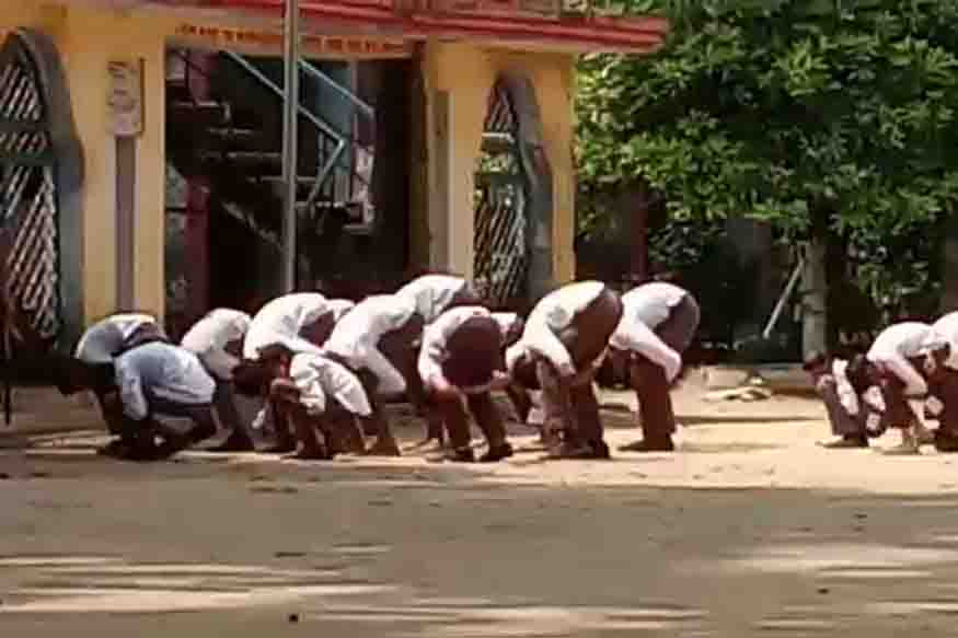 Muzaffarnagar college video of mass corporal punishment went viral upat