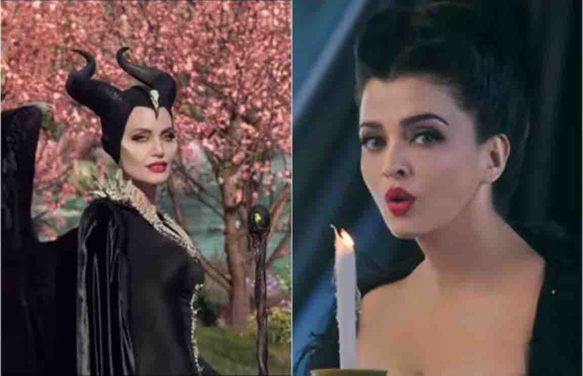 aishwarya rai bachchan joined the disney universe as maleficent in hindi trailer of angelina jolies movie watch trailer here