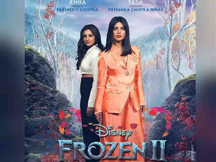 Chopra Sisters priyanka and parineeti finally coming together for Disney Frozen 2