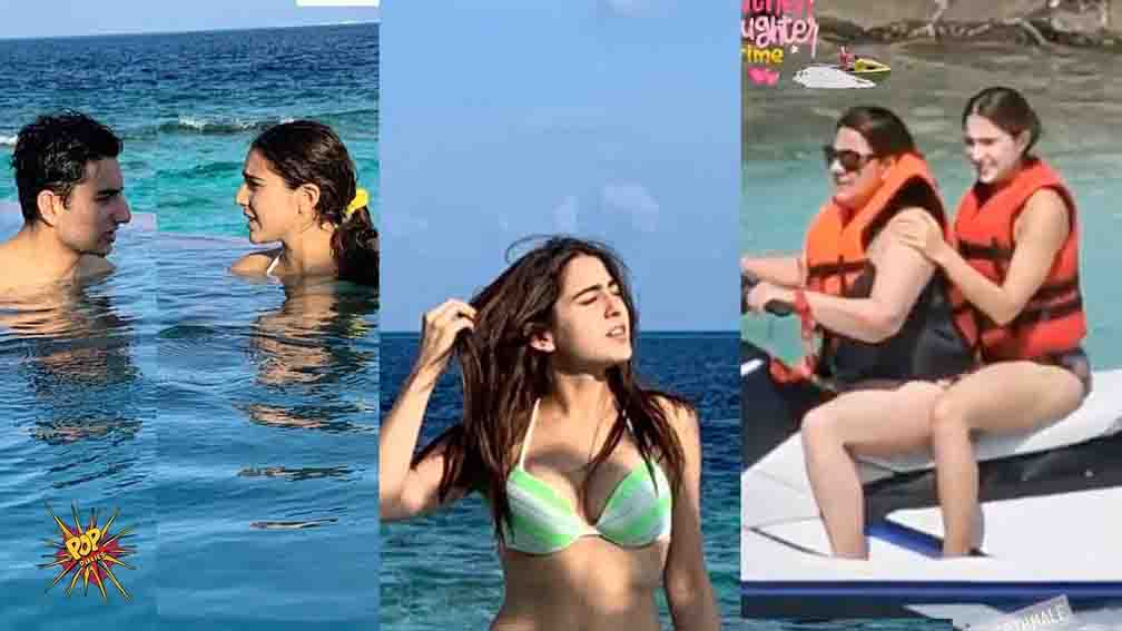 Sara Ali Khan Bikini Stunning Pics From Maldives Vacation