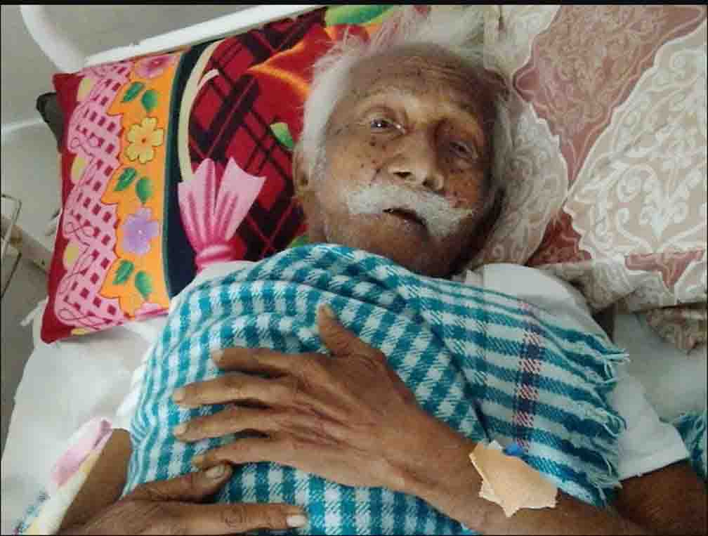 119 year old Jabrabhai Rathwa is an intriguing puzzle for the doctors of Vadodara