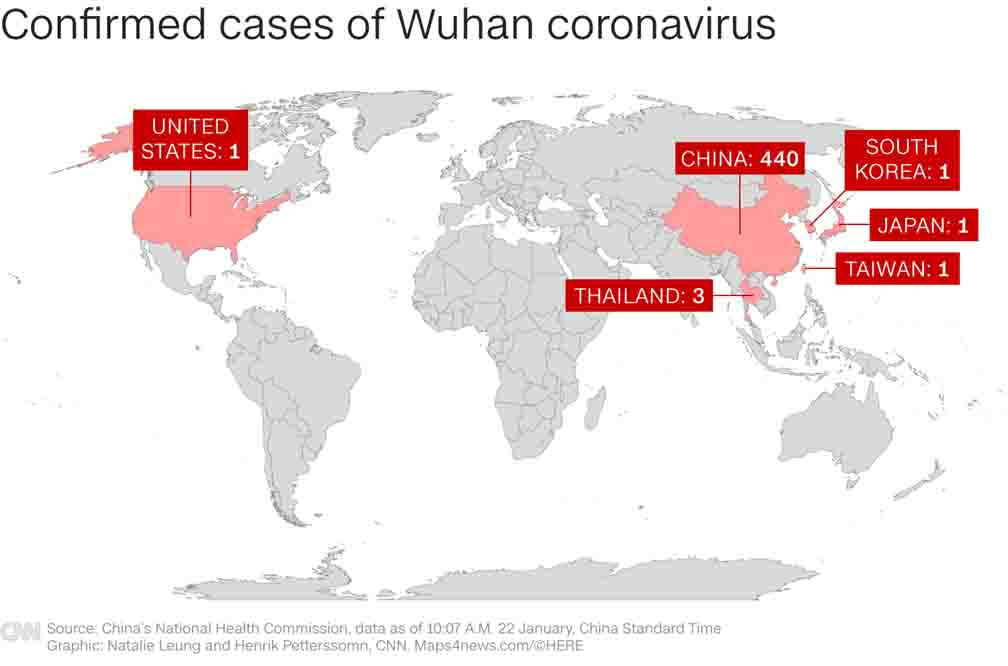 Corna Viurs More than three lakh infection cases found worldwide