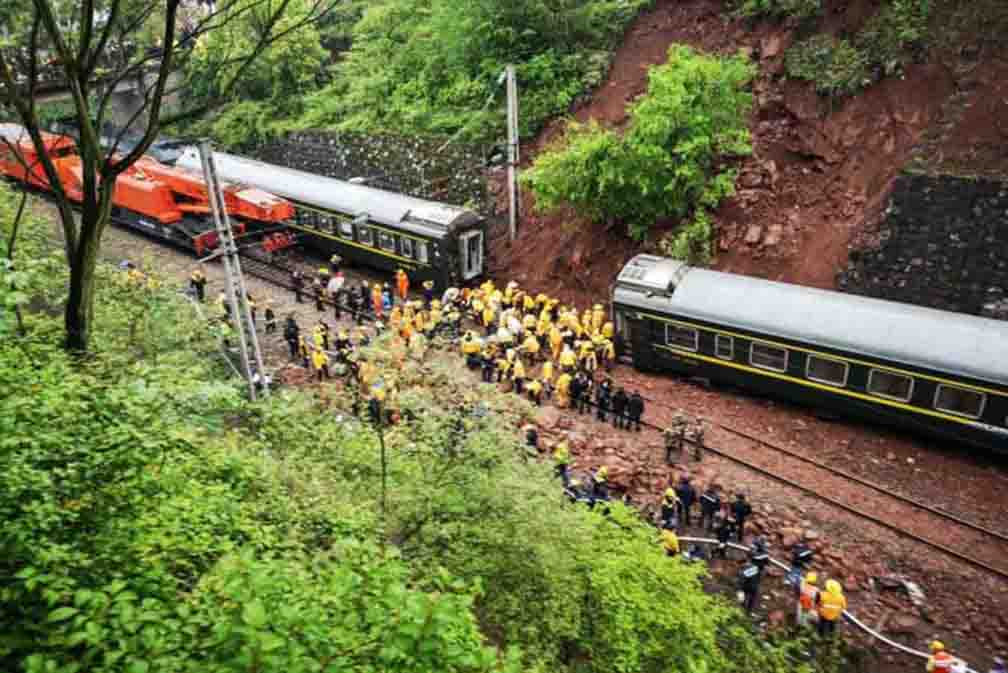 China News: A Train Derailed In China Killing 20 Other Injured