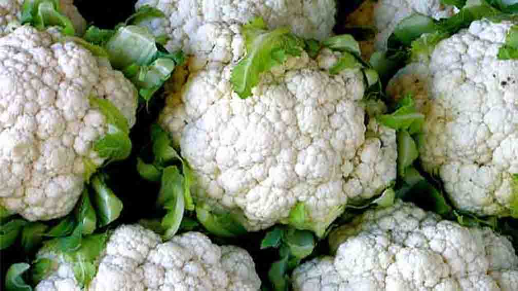 Eating cauliflower is beneficial for health