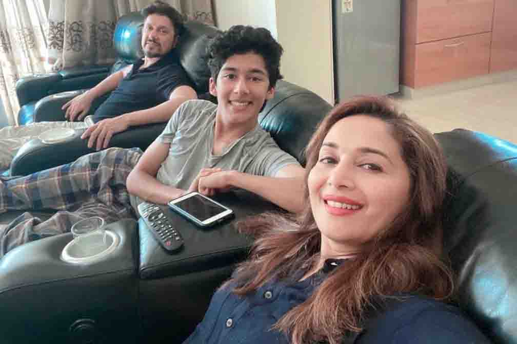 Madhuri Dixit is taking online dance class from home due to lockdown