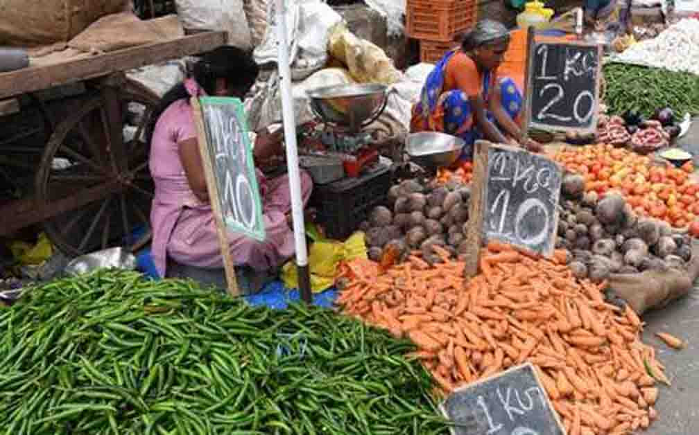 Vegetable prices come down due to Corona virus