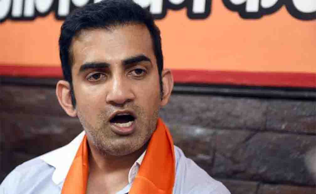 Gautam Gambhir angry over increasing taxes on alcohol and oil