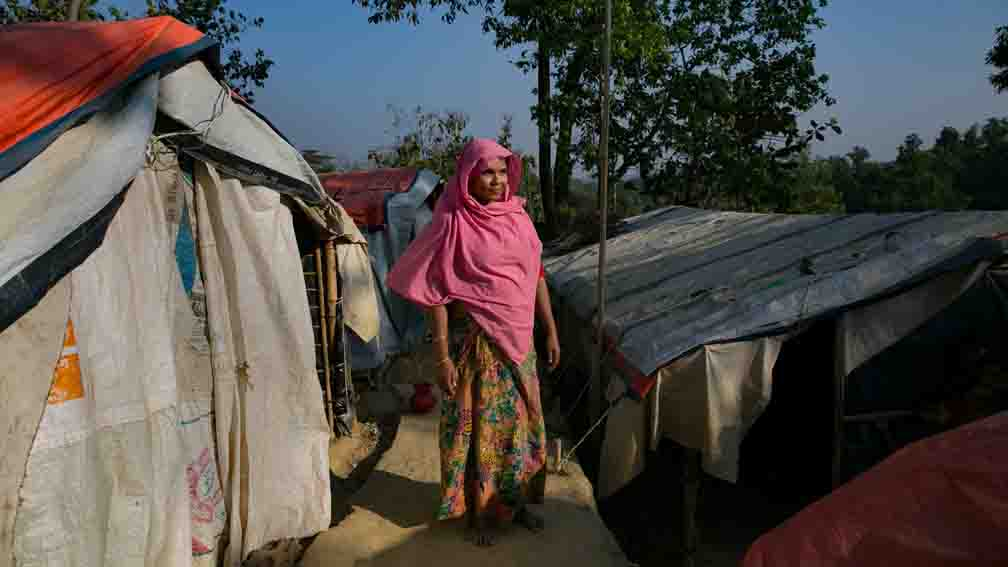 Covid-19 knocked in Rohingya camp of Bangladesh