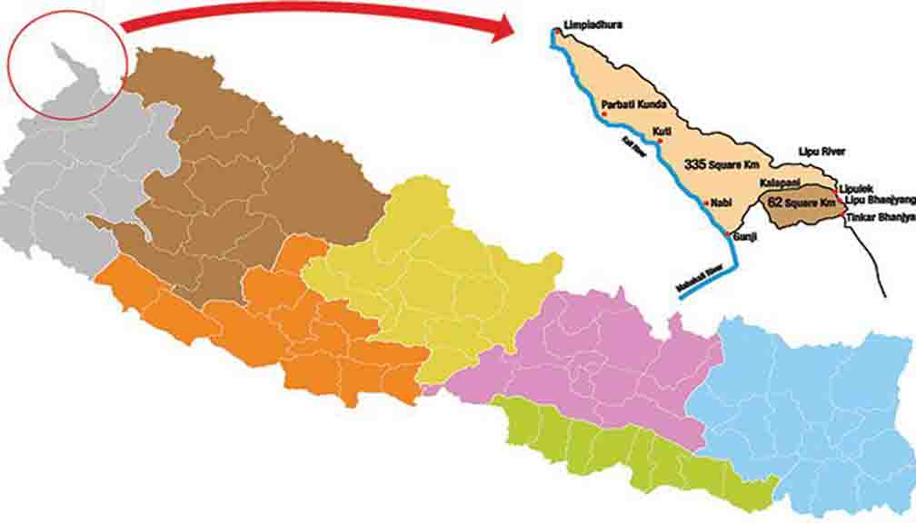 Nepal included Lipulekh, Kalapani to create new map amidst border dispute with India