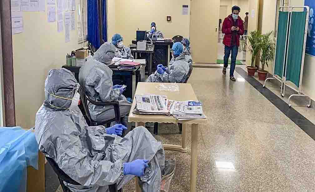Number of corona infected reached 8 thousand in Delhi