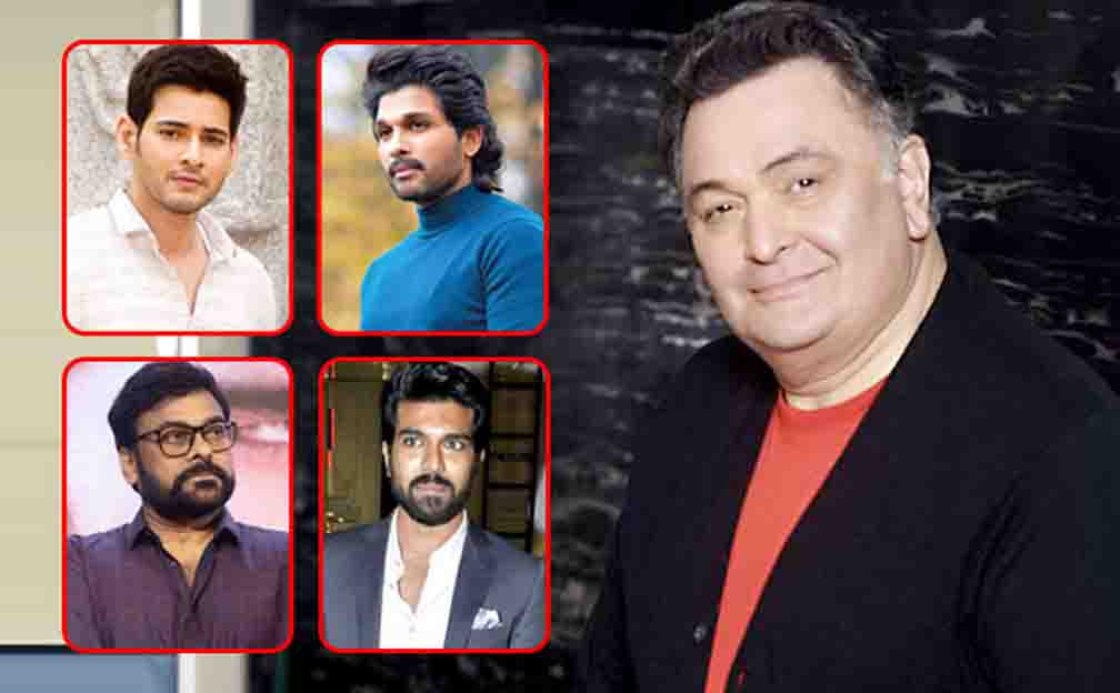 Telugu artists also give a tribute to Rishi Kapoor
