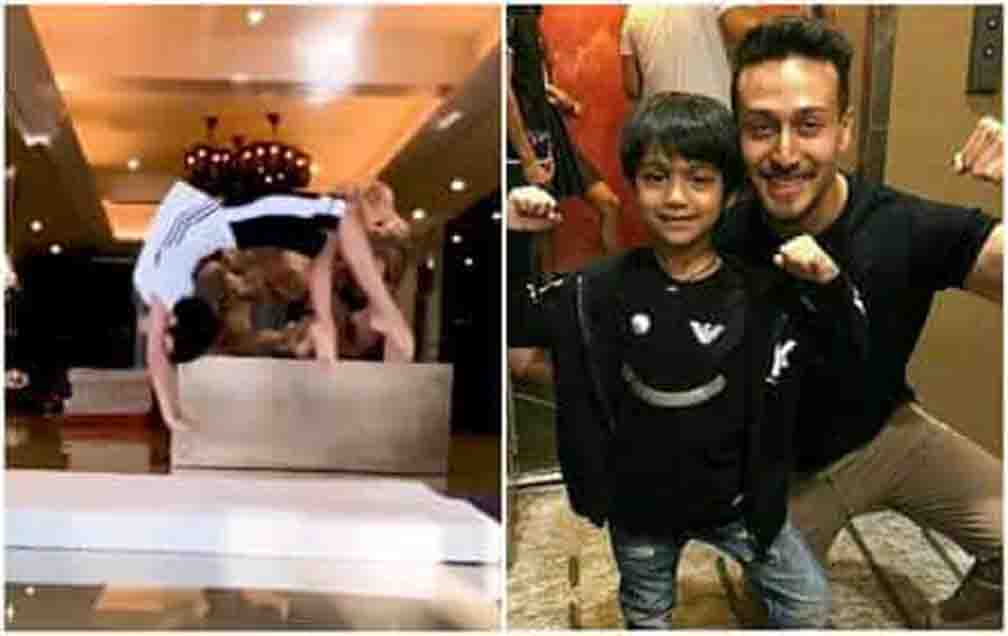 Why does Tiger Shroff want to train with Shilpa's son Viaan