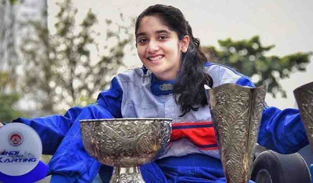 India's young racer Aashi selected for Rising Star Project