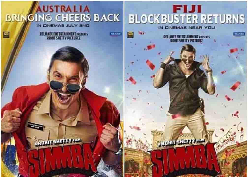 Rohit Shetty's Simba to be released in Australia on July 2