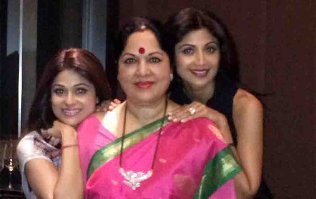 Shilpa Shetty congratulates her mother on her birthday