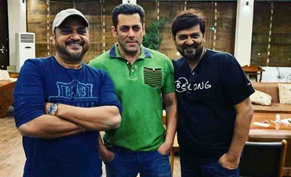 Wajid paired with Salman Khan many times from the first song to the last song.