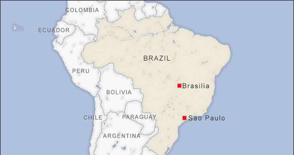 38000 new cases of corona infection in Brazil in the last 24 hours