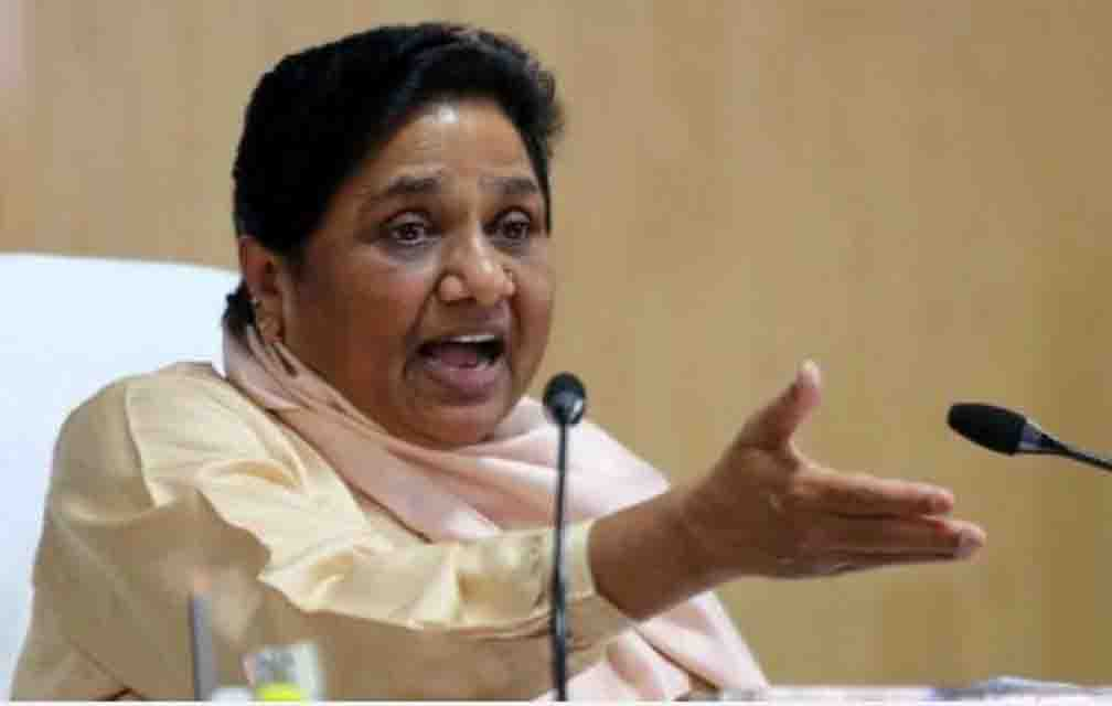 BSP supremo Mayawati targets the dying law and order in UP