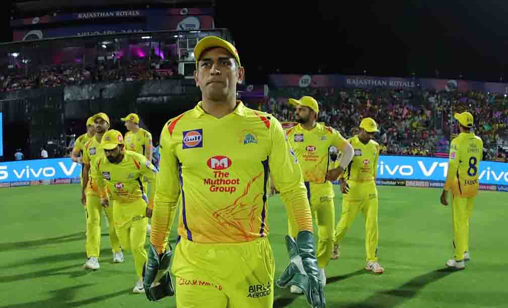 One Indian player in Chennai Super Kings team while 12 staff members found corona infected