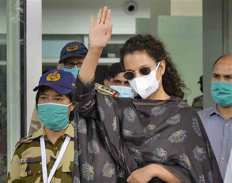 Leaving Mumbai With A Heavy Heart, But Comparing The City With Pok Was Absolutely Right: Kangana Ranaut