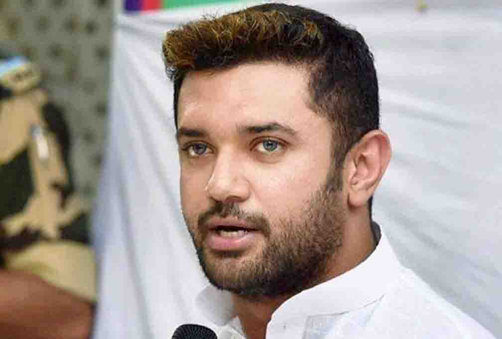Chirag targeted Nitish, saying I agree with Tom, Dick or Harry
