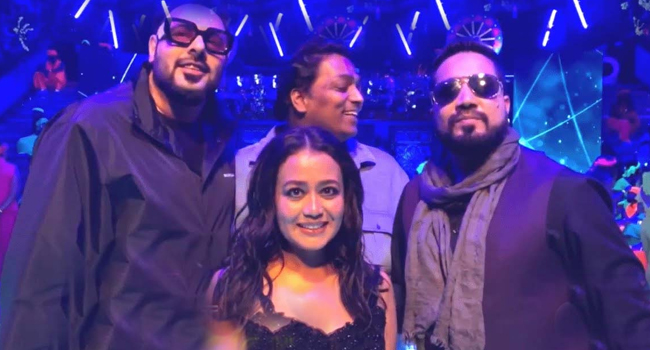 Micha Singh, Neha Kakkar and Badshah came together for the wedding anthem