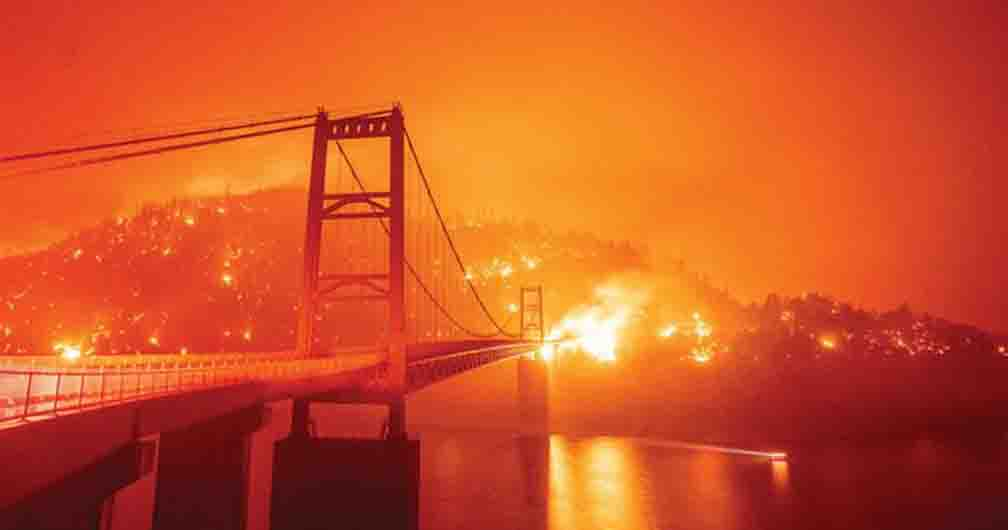 Northern California wildfires, many wild communities also destroyed in the northwest
