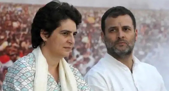 Rahul-Priyanka attacked Modi government regarding agriculture bill