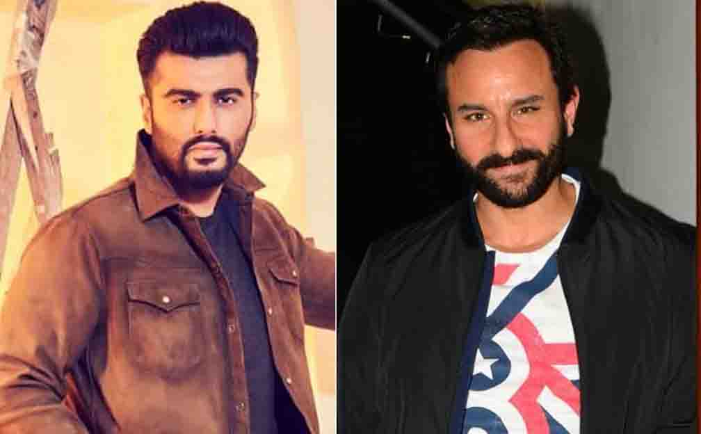 Saif and Arjun will be seen in the horror comedy film Bhoot Police