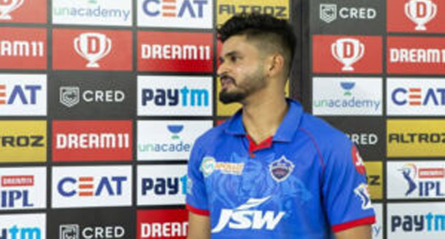 Shreyas Iyer fined for slow over rate