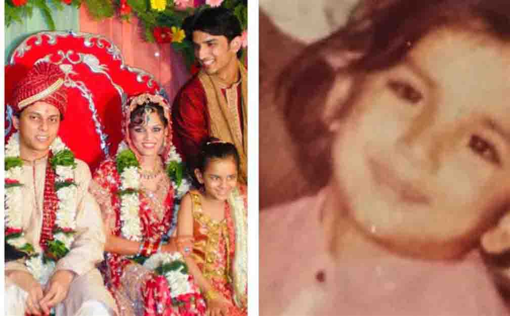 Sushant's sister shared childhood photo