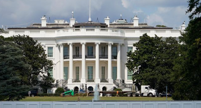 Envelope addressed to white house contained poison