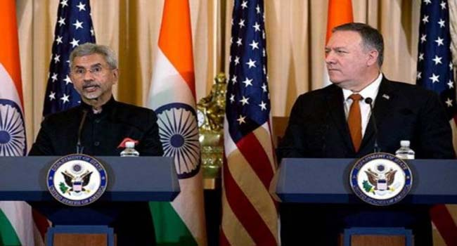 Foreign Minister Jaishankar meets his American counterpart Pompeo in Tokyo