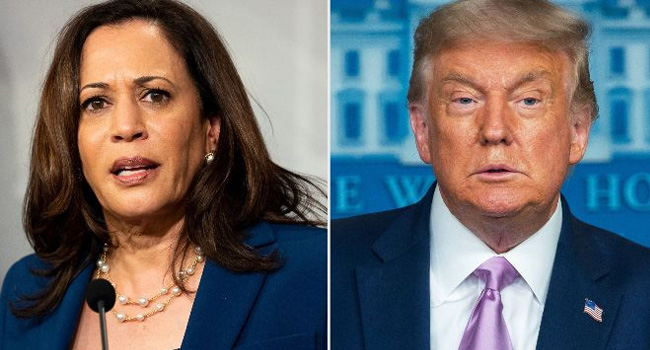 """Trump's remarks on Harris are """"scandalous"""", """"against the dignity of the presidency"""": Biden"""