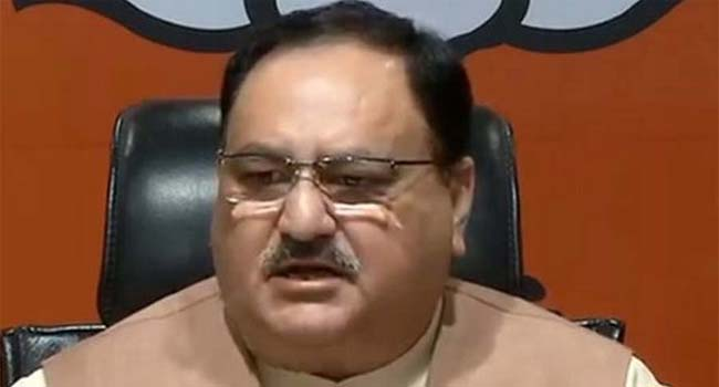 Congress prince does not trust anything in India: Nadda