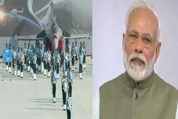 Modi salutes the brave warriors of the country on Air Force Day