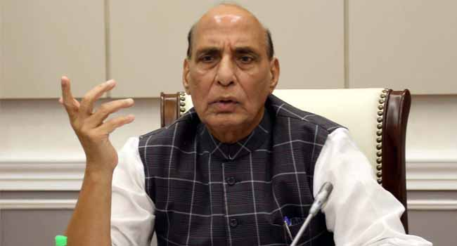 China is creating border dispute under a mission: Rajnath