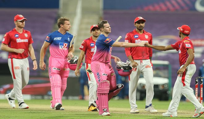 Royals stopped the victory chariot of Kings XI Punjab on the strength of batsmen