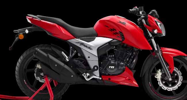 TVS Motor's Apache sales exceed 4 million units