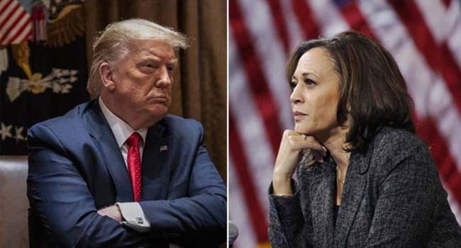 US Vice President debate: Harris said Trump lost trade war with China