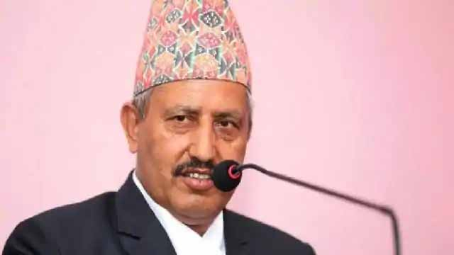 Another cabinet minister of Nepal infected with Corona virus