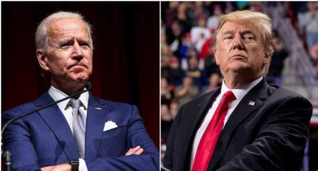 Trump's efforts to tackle the epidemic are 'wavering' like his presidency: Biden