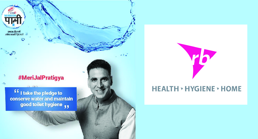 Akshay Kumar associated with Mission Pani campaign on the occasion of Water Pledge Day