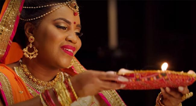 Singer Mary Milben wishes people Diwali by singing 'Om Jai Jagdish Hare'